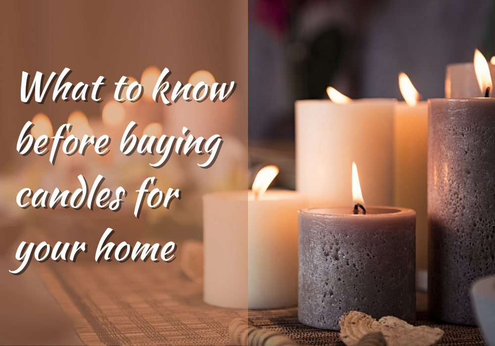 What you need to know before buying candles for your home