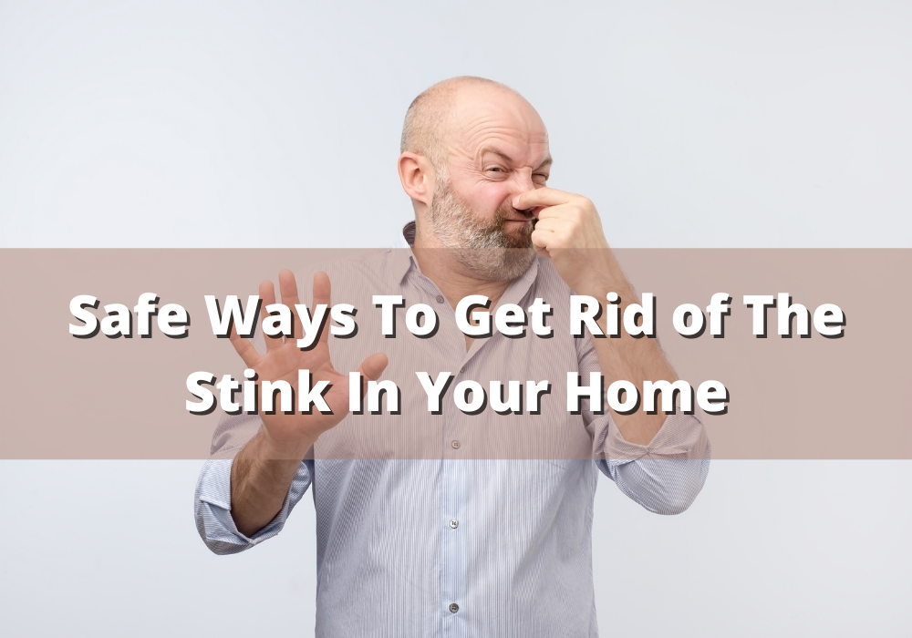 Safe Ways To Get Rid of The Stink In Your Home