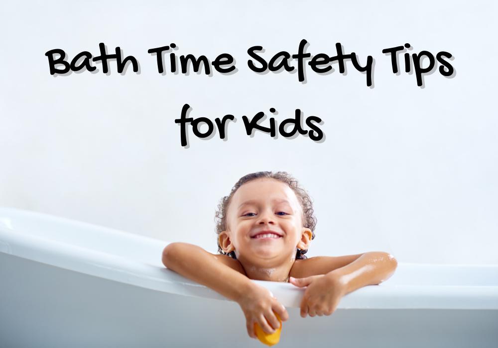 Bath Time Safety Tips for Kids