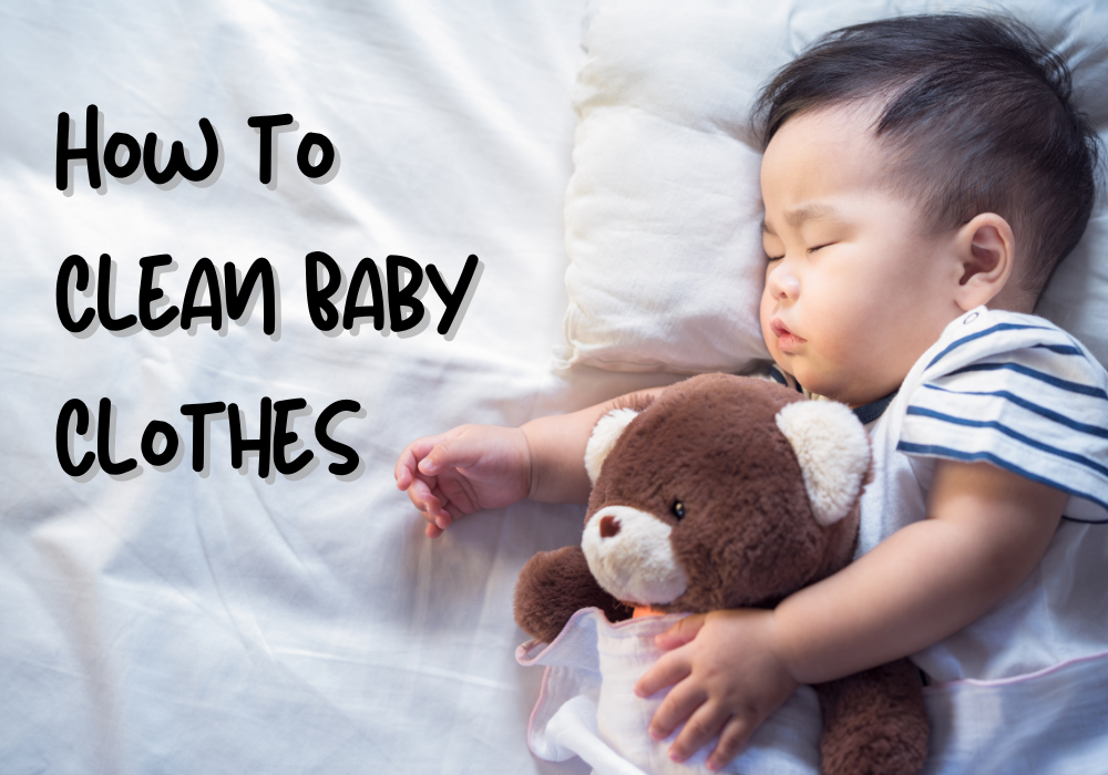 How to Clean Baby Clothes